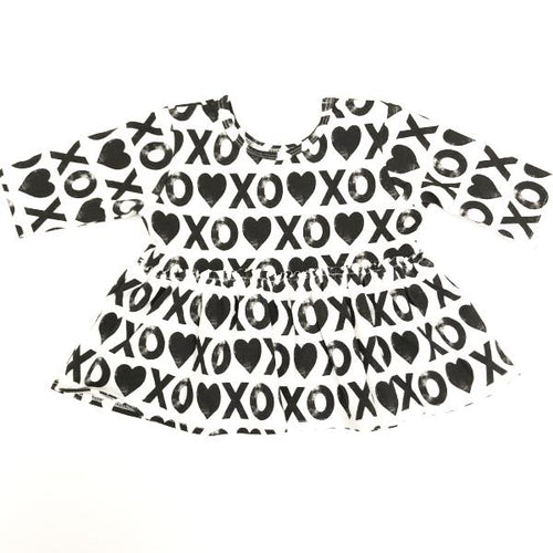 Made by Molly Peplum Top - XOXO