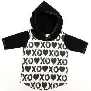 Made by Molly T-Shirt Hoodie - XOXO
