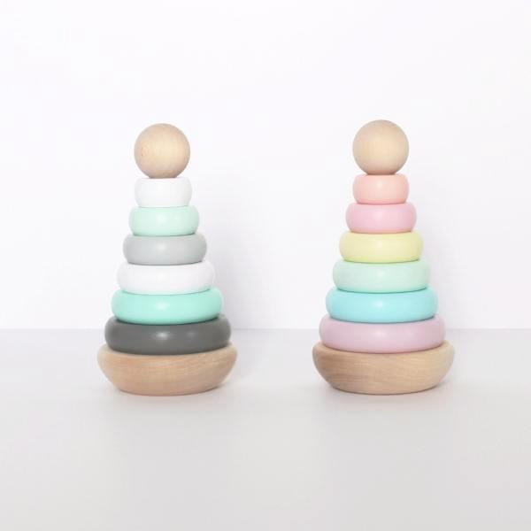 Wooden Handmade Stacker - Bloom Kids Collection - Bloom Kids Collection