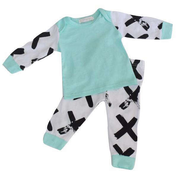 X 2 Piece Set - Aqua - Bloom Kids Collection - Bloom Kids Collection