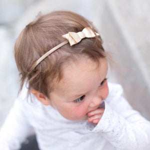 Freshly Picked Platinum Bow - Bloom Kids Collection - Freshly Picked
