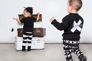 Lucky No.7 Little Bandit Pants - Bloom Kids Collection - Luck No.7