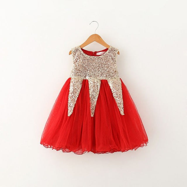 The Kambrie Dress - Red - Bloom Kids Collection - Bloom Kids Collection