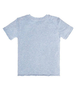 Burt's Bees High V Cotton Tee - Twilight Heather - Bloom Kids Collection - Burt's Bees