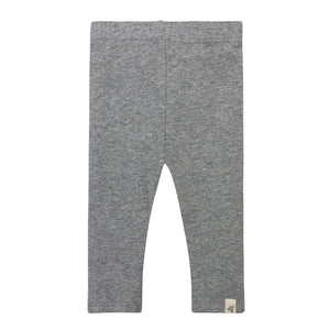 Burt's Bees Capri Legging - Heather Grey - Bloom Kids Collection - Burt's Bees