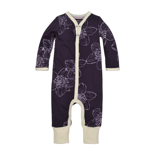 Burt's Bees Blackberry Floral Coverall