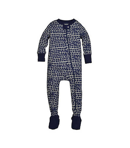 Clustered Star Organic Cotton Sleeper - Starry Night