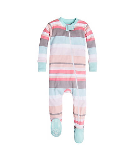 Burt's Bees Desert Stripe Sleeper - Multi - Bloom Kids Collection - Burt's Bee