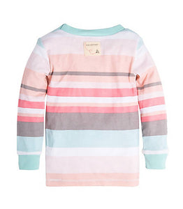 Burt's Bees Desert Stripe Tee & Pant Set - Multi - Bloom Kids Collection - Burt's Bees