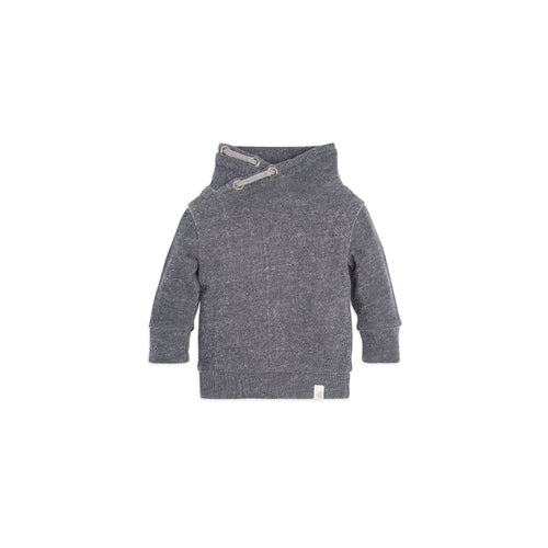 Burt's Bees Loose Pique Applique Sweatshirt - Midnight - Bloom Kids Collection - Burt's Bees