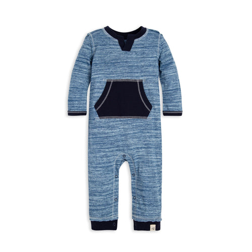 Burt's Bees Space Dye Jumpsuit - Midnight - Bloom Kids Collection - Burt's Bees