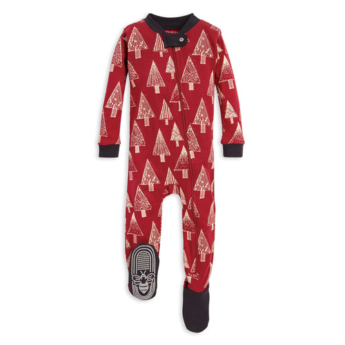 Burt's Bees Festive Forest Sleeper - Cranberry - Bloom Kids Collection - Burt's Bees