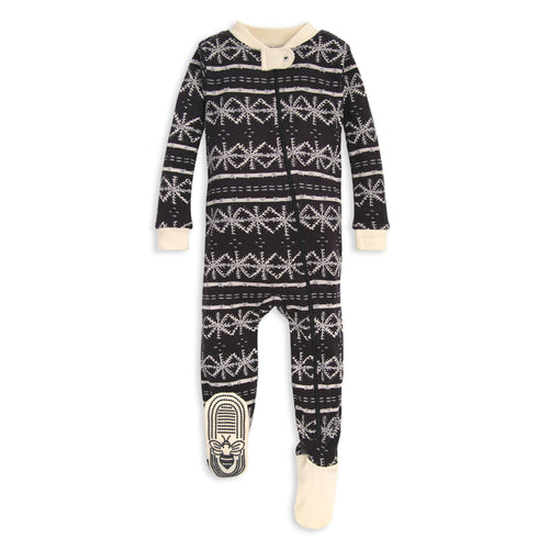 Burt's Bees Frozen Fair Isle Sleeper - Zinc - Bloom Kids Collection - Burt's Bees