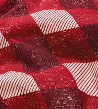 Burt's Bees Abstract Argyle Sleeper - Cranberry - Bloom Kids Collection - Burt's Bees