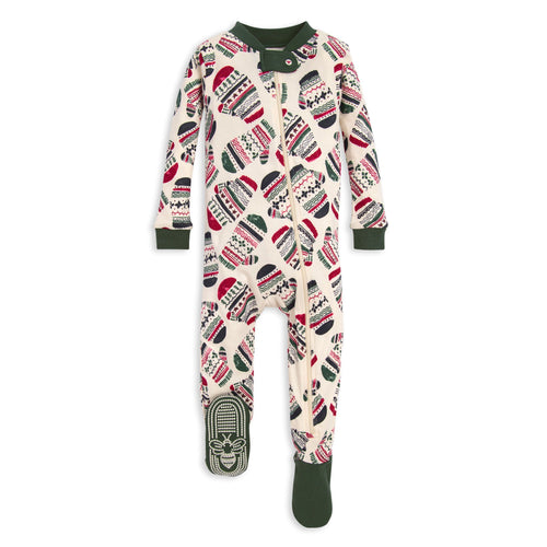 Burt's Bees Merry Mittens Sleeper - Pine Tree - Bloom Kids Collection - Burt's Bees
