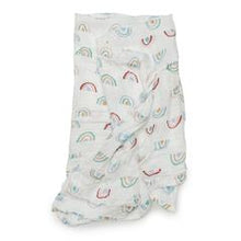 Loulou Lollipop Muslin Swaddle - Llama Rainbow - Bloom Kids Collection - Loulou Lollipop