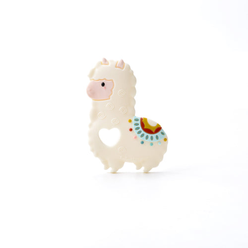 Loulou Lollipop Teether - Llama - Bloom Kids Collection - Loulou Lollipop