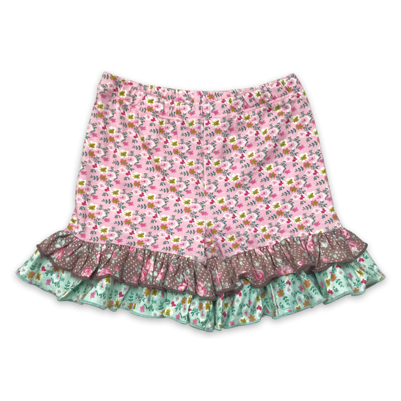 Mustard Pie Rustic Peony Ella Shortie - Bloom Kids Collection - Mustard Pie