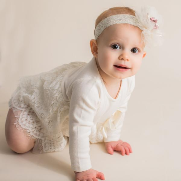 Maeli Rose Lace Skirt Onesie - Bloom Kids Collection - Maeli Rose