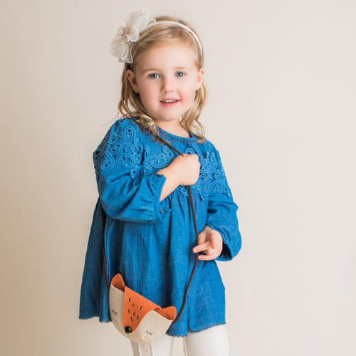 Maeli Rose Swirly Patch Tunic - Bloom Kids Collection - Maeli Rose