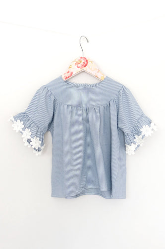 Maeli Rose Flower Sleeved Top - Bloom Kids Collection - Maeli Rose