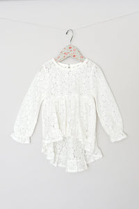 Maeli Rose White Lace Tunic with Cami - Bloom Kids Collection - Maeli Rose