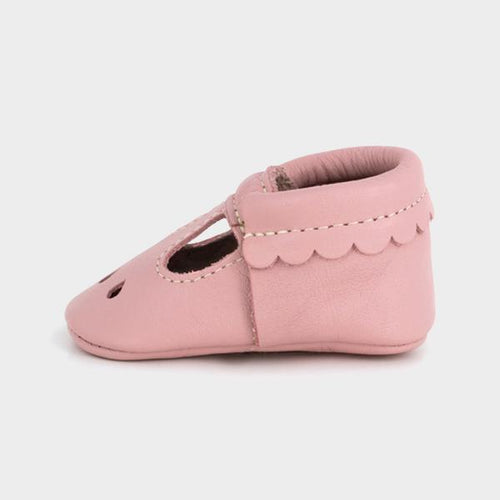 Freshly Picked Blush Mary Jane Moccasins - Bloom Kids Collection - Freshly Picked