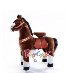 Ponycycle Ride On Brown Horse - Bloom Kids Collection - PonyCycle