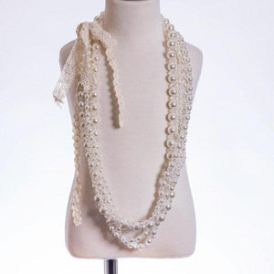 ML Kids Multi-Strand Pearl Necklace