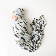 Posh Peanut Infant Swaddle and Beanie Set - Cash