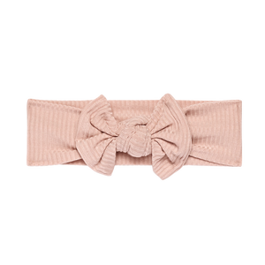 Posh Peanut Infant Headwrap - Sweet Pink Ribbed