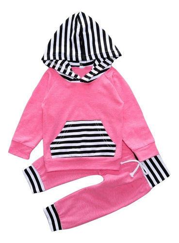 Pink and Black Jogger Set - Bloom Kids Collection - Bloom Kids Collection