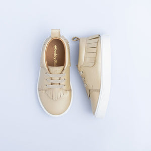 Freshly Picked Sneaker Mocc - Platinum - Bloom Kids Collection - Freshly Picked