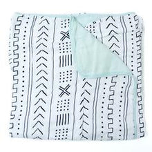 Loulou Lollipop Luxe Muslin Quilt Blanket - Mudcloth