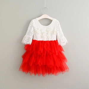 The Brinley Dress - Red - Bloom Kids Collection - Bloom Kids Collection