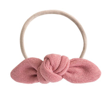 Lulu + Roo Knotted Bow - Rose - Bloom Kids Collection - Lulu + Roo