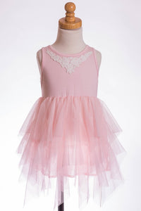 ML Kids Tulle Dress - Pink - Bloom Kids Collection - ML Kids