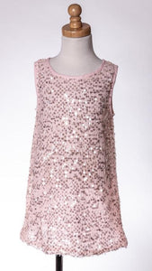 ML Kids Sequin Dress - Pink - Bloom Kids Collection - ML Kids
