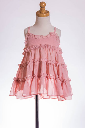 ML Kids Crinkle Tunic - Blush