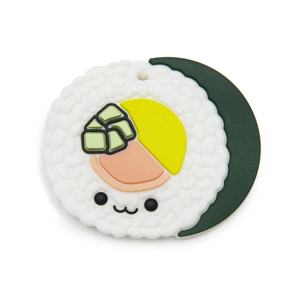 Loulou Lollipop Teether - Sushi Roll