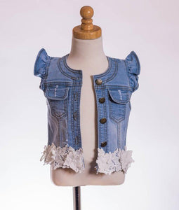 ML Kids Denim Vest