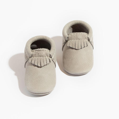 Freshly Picked Mini Sole City Moccasins - Salt