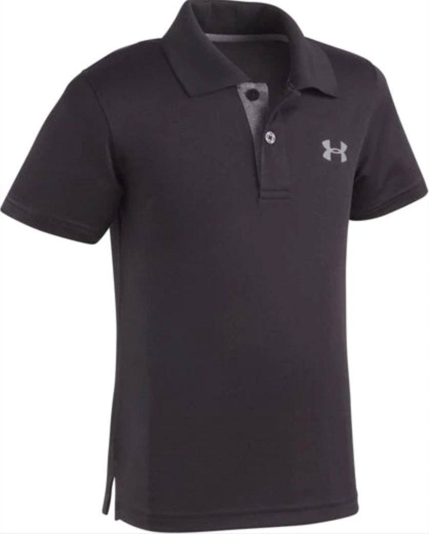 Under Armour Match Play Polo - Black - Bloom Kids Collection - Under Armour