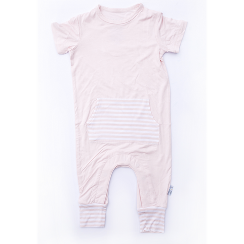Moon + Beck Romper II - Blush - Bloom Kids Collection - Moon + Beck