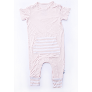 Moon + Beck Romper II - Blush