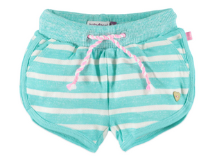 Babyface Striped Shorts - Fresh Green - Bloom Kids Collection - Babyface