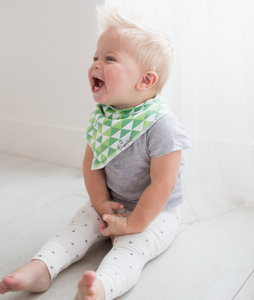 Copper Pearl Baby Bandana Bibs - Apollo - Bloom Kids Collection - Copper Pearl