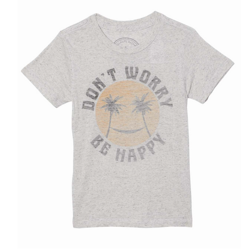 Tiny Whales Don't Worry Tee - Bloom Kids Collection - Tiny Whales