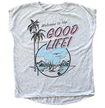 Tiny Whales Good Life Dolman Tee - Bloom Kids Collection - Tiny Whales