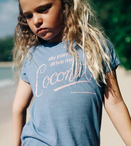 Tiny Whales Coconuts Dolman Tee - Bloom Kids Collection - Tiny Whales